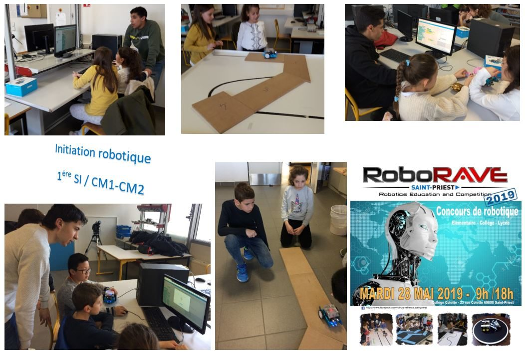 Initiation Robotique 1ère SI / CM1-CM2